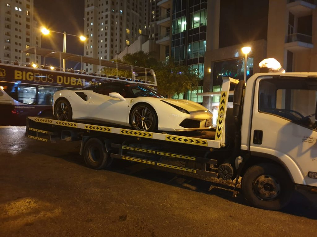 Low fuel Car Recovery