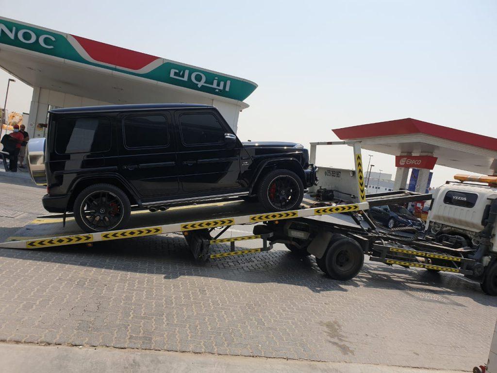 vehicle recovery dubai