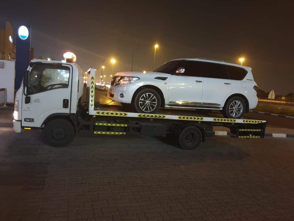 Off road Car Recovery dubai